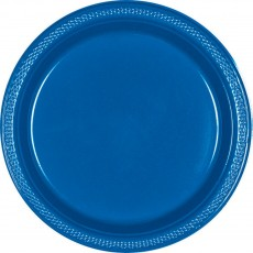 Blue Royal Plastic Banquet Plates