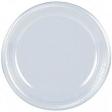 Clear Plastic Banquet Plates