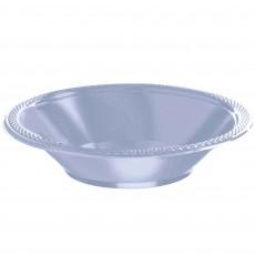 Blue Pastel Plastic Bowls