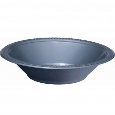 Silver Plastic Bowls