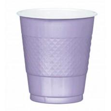 Lilac Lavender  Plastic Cups