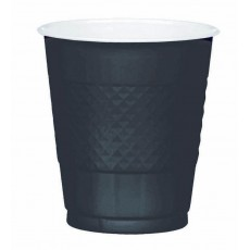 Black Jet  Plastic Cups