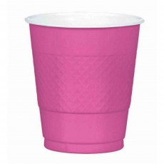 Pink Bright  Plastic Cups