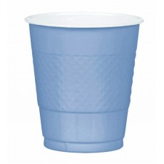 Pastel Blue Plastic Cups 355ml Pack of 20