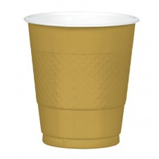 Gold Sparkle  Plastic Cups