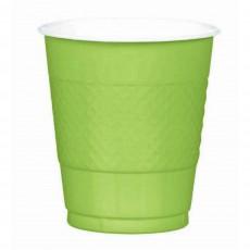 Green Kiwi Plastic Plastic Cups
