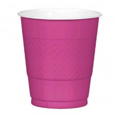 Magenta Plastic Plastic Cups