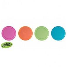 Multi Colour Neon ed Plastic Hanging Decorations