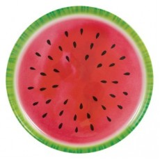 Hawaiian Luau Watermelon Melamine Platter