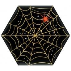 Halloween Web Lunch Plates