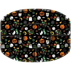Halloween Hallo-ween Friends Sectional Platter