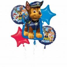 Paw Patrol Party Decorations - Foil Balloons Bouquet