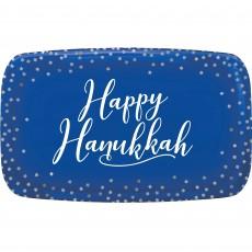 Rectangular Hanukkah Serving Platter