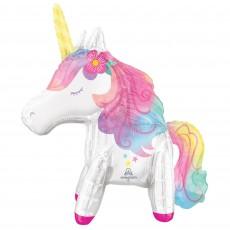 Magical Unicorn Party Decorations - Shaped Balloon Enchanted Unicorn CI: Multi-Balloon