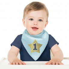 Boy's 1st Birthday Bib Costume Accessorie