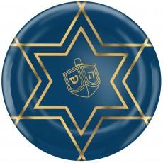 Hanukkah Party Supplies - Lunch Plates Plastic