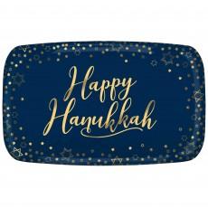 Hanukkah Rectangular Plastic Platter