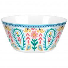Boho Vibes Melamine Salad Bowl