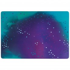 Sparkling Sapphire Party Supplies - Tray Melamine Serving