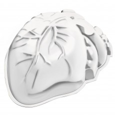 Halloween Large Heart Shaped Plastic Mould Container