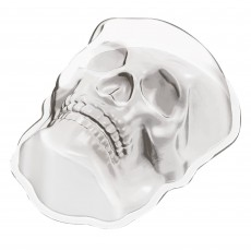 Halloween Large Skull Shaped Plastic Mould Misc Accessorie
