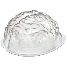 Halloween Large Brain Shaped Plastic Mould Container