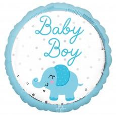 Boy Enchanting Elephant Party Decorations - Foil Balloon Standard HX