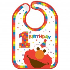 Elmo Turns One Bib Costume Accessorie