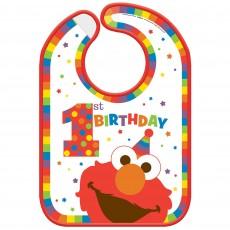 Elmo Turns One Party Supplies - Bib