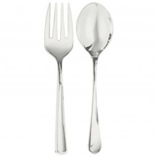 Silver Premium Serving Spoon & Fork Misc Cutlery