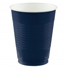 Navy Blue Big Party Plastic Cups 473ml Pack of 50