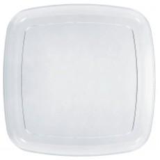 Square Clear Platter 35.5cm