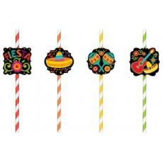 Fiesta Straws