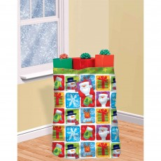 Christmas Party Supplies - Christmas Holiday Friends Giant Gift Sack
