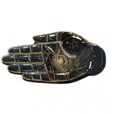 Halloween Palmistry Hand Trinket Dish Platter
