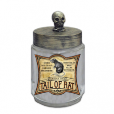 Halloween Skull Head Apothecary Jar Misc Decoration