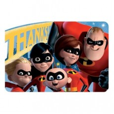 Incredibles 2 Postcard Thank You Cards