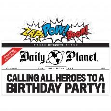 Justice League Heroes Unite Deluxe Favours