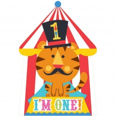 Fisher Price 1st Birthday Circus Invitations
