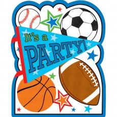 Sports Postcard Invitations