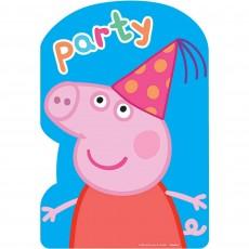Peppa Pig Postcard Invitations