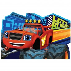 Blaze & The Monster Machines Postcard Invitations