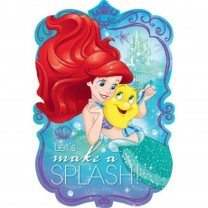 The Little Mermaid Ariel Dream Big Postcard Invitations