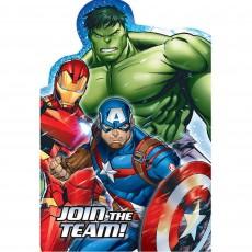 Avengers Epic Postcard Invitations Pack of 8