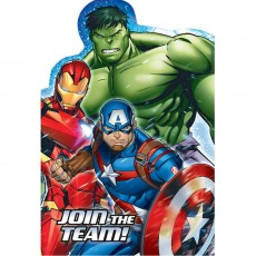 Avengers Epic Postcard Invitations