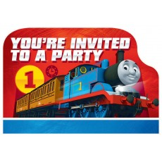 Thomas & Friends All Aboard Postcard Invitations Pack of 8