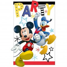 Mickey Mouse On The Go Postcard Invitations 11cm Pack of 8