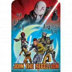 Star Wars Rebels Postcard Invitations