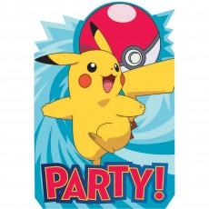 Pokemon Core Postcard Invitations
