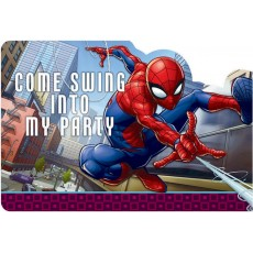Spider-Man Webbed Wonder Postcard Invitations